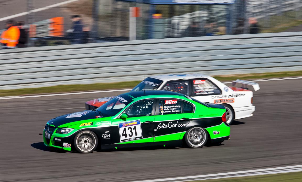 VLN, Archiv 2011, Dolate-Motorsport, kleines Duell