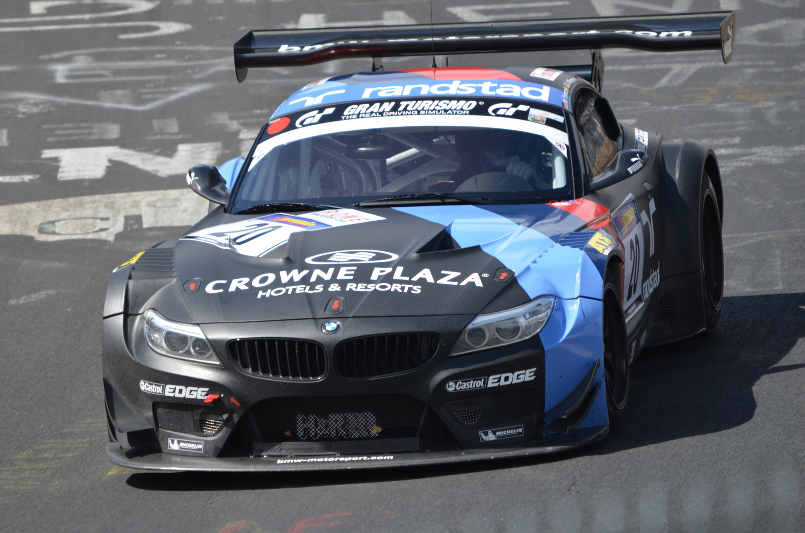 VLN Rennen 13.04.2013 BMW Z4 GT3
