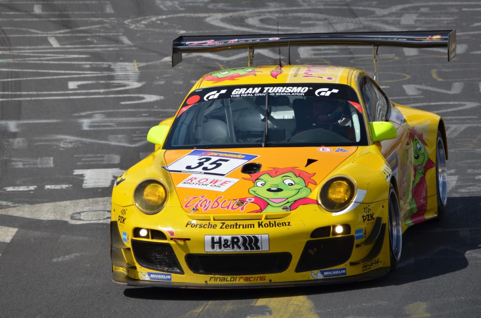 VLN Rennen 13.04.2013 Porsche 911 GT3 R