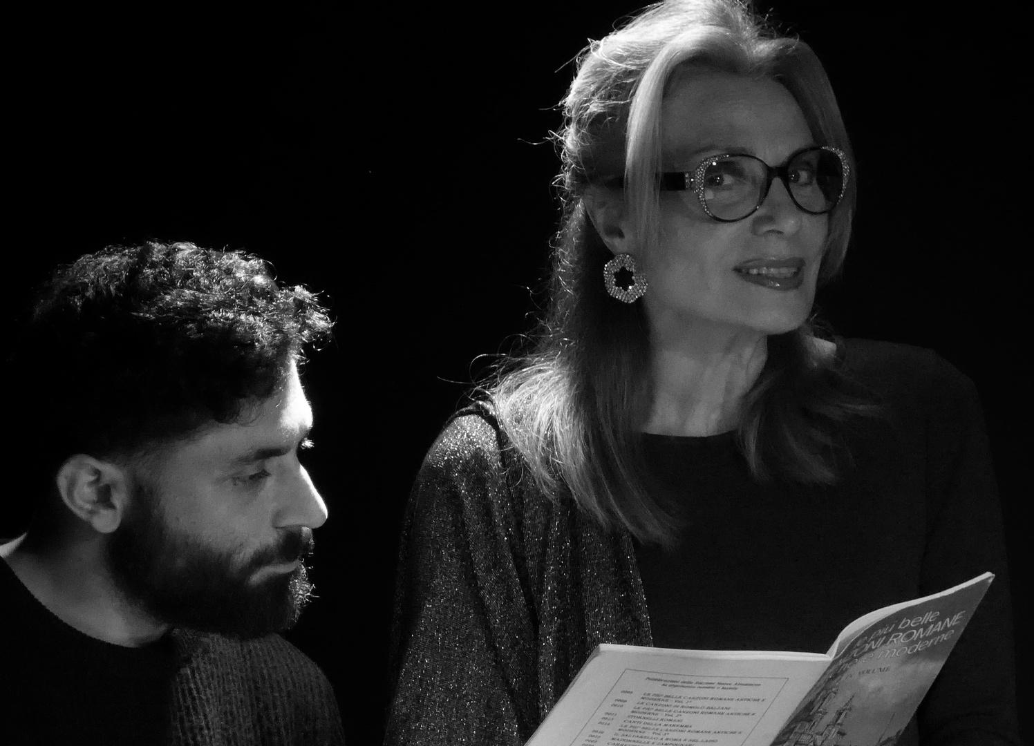 VOCE E PIANOFORTE - Susy Sergiacomo - Attrice
