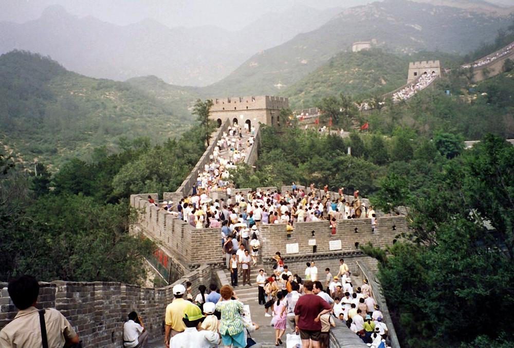 Völkerwanderung, Große Mauer bei Badaling, China