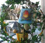 """Vogel - """"Futterkrippe"""" auf meinem Balkon"""