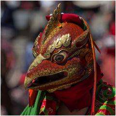 Vogel-Maske