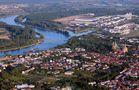 Vogelflug über Speyer