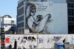 VOGELFREI FLIRTPARTY streetart