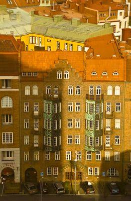 Vogelperspektive in Göteborg