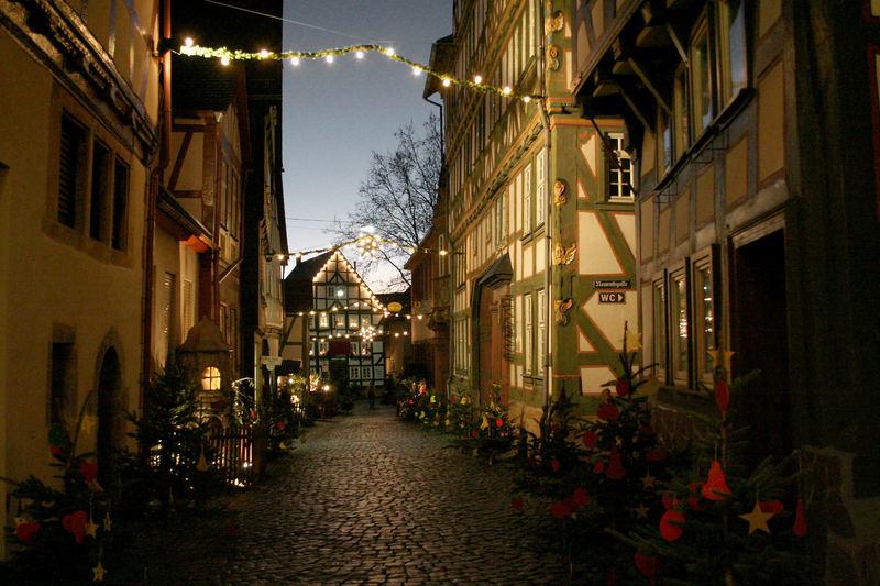 Vogelsbergkreis: Weihnachtliches Alsfeld