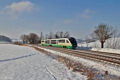 Vogtlandbahn unterwegs nach Plauen