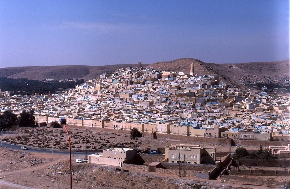 voila la ville de ghardaia ou je vie