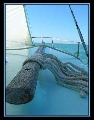 Voile: sortie en mer