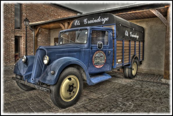 voiture à fromage normand