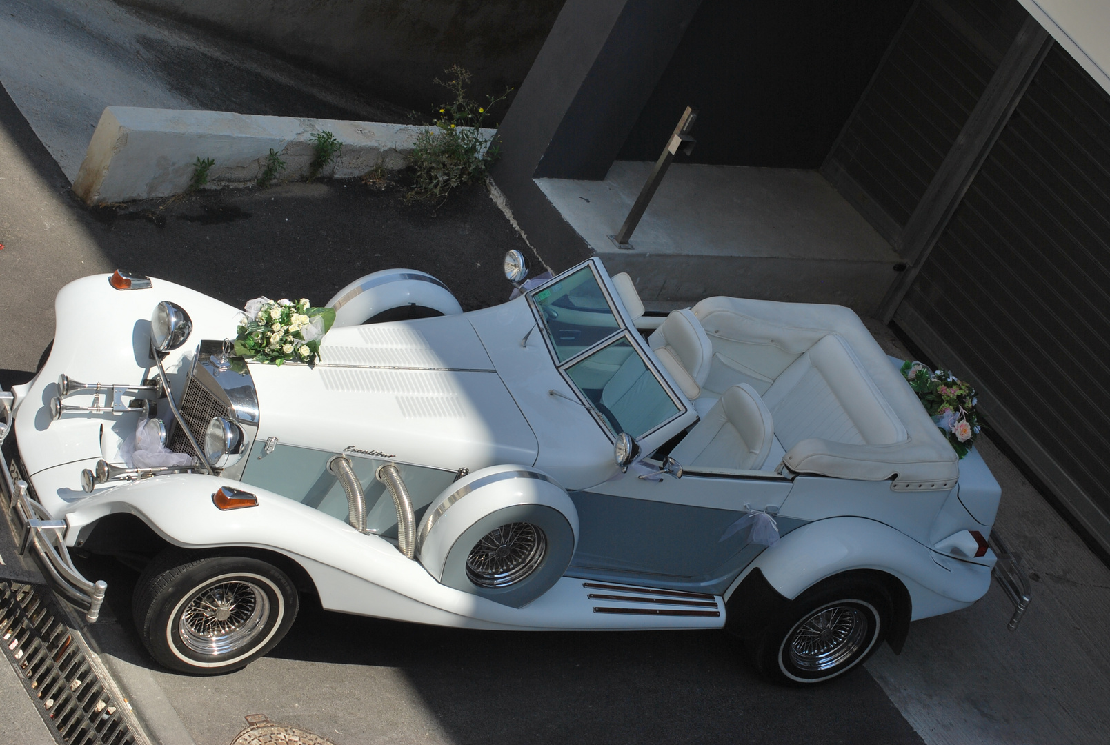 voiture de fête