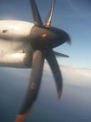 vol au dessus de Bora Bora. Magique