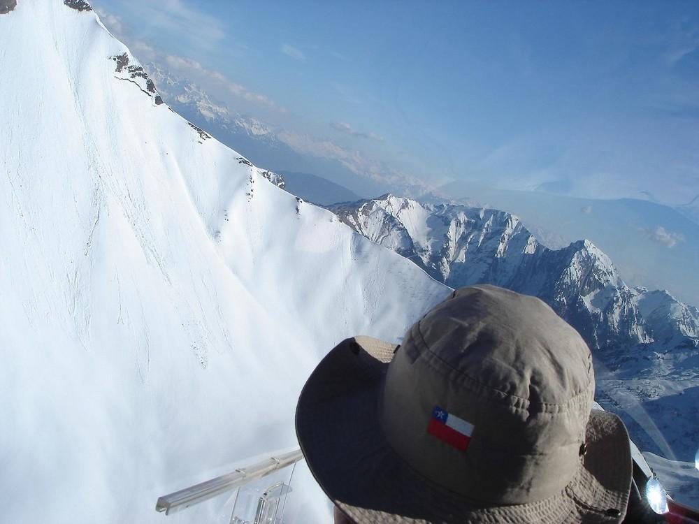 vol en planeur sur les Alpes