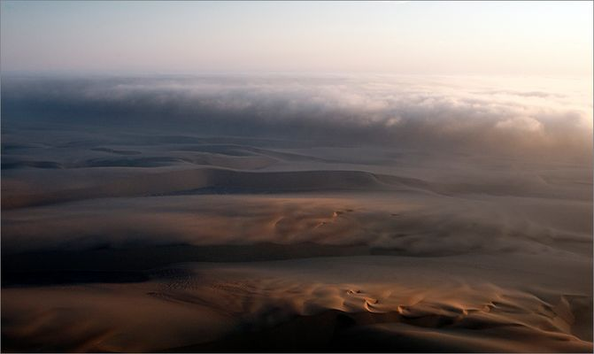 vol sur le brouillard