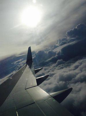 vol vers l'Amérique