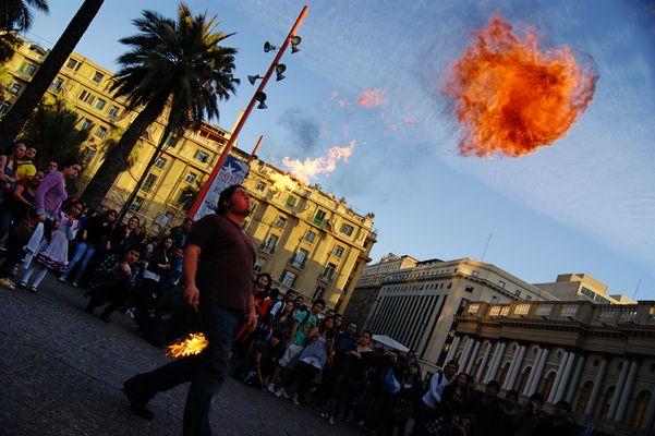 Voladora de fuego