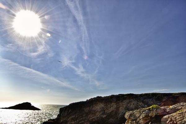 volando al sol