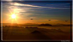 Volando verso il Sole