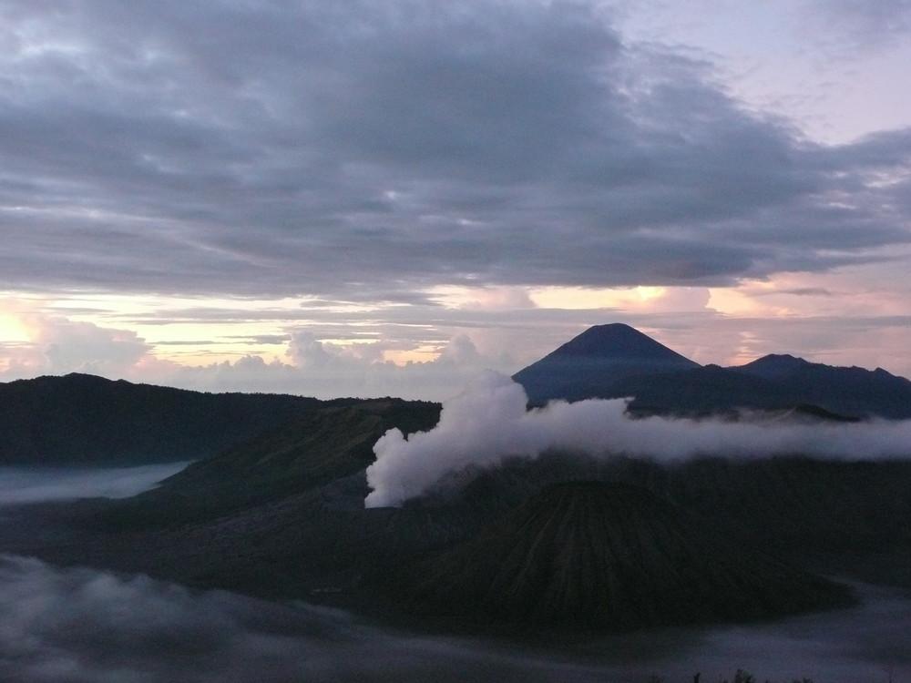 volcan à Java