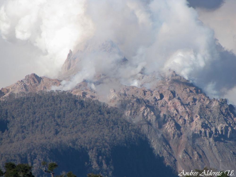 Volcan Chaiten 2009