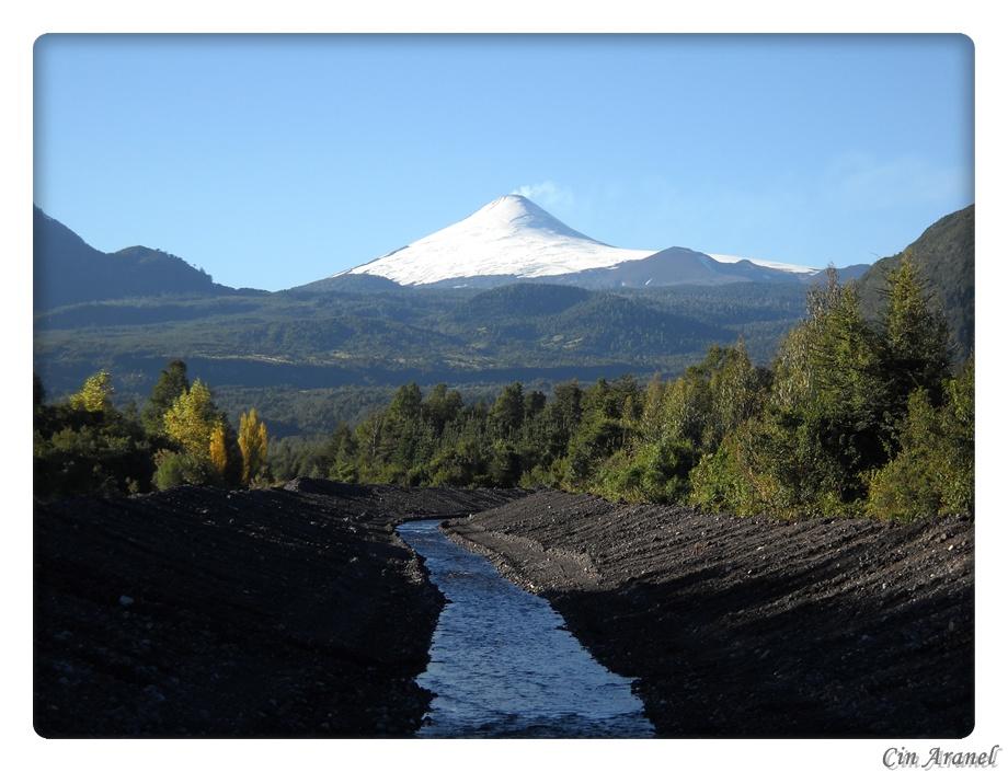 Volcán Villarica, Coñaripe, Chile