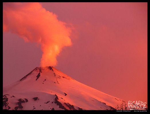 Volcan Villarica, Pucon, Chile