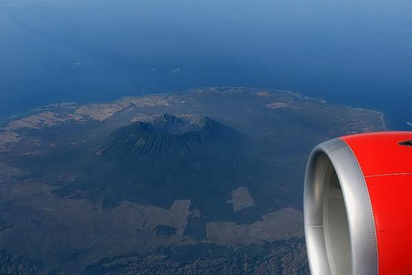 volcano of Baluran