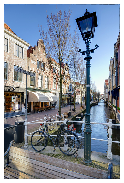 Voldersgracht Delft, Niederlande