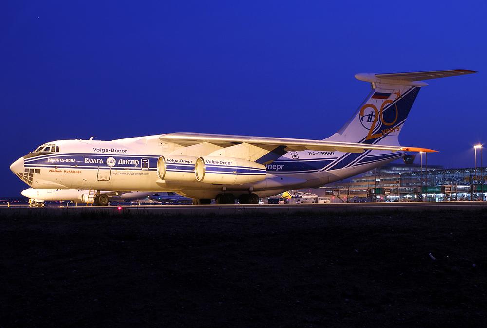 Volga Dnepr Ilyushin Il-76TD-90VD RA-76950