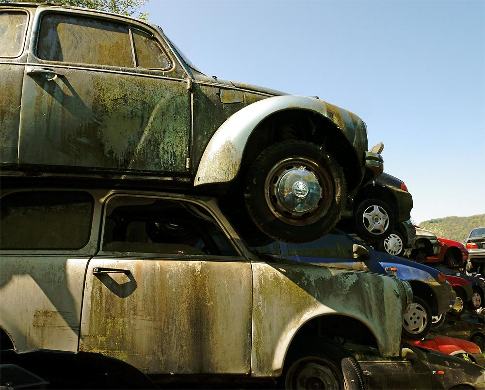 Volkswagen West meets Volkswagen Ost