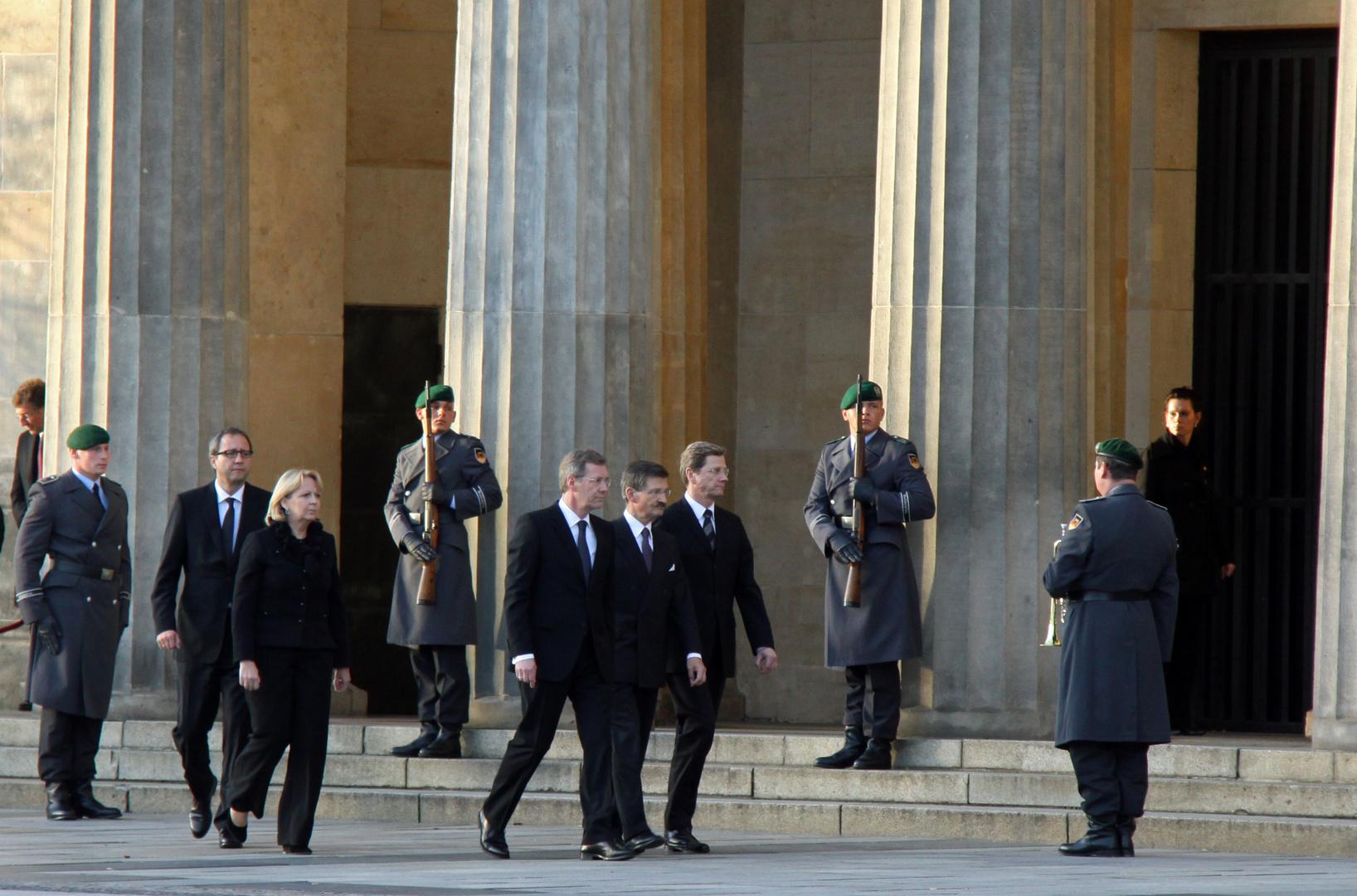 Volktrauerttag am 14. November 2010