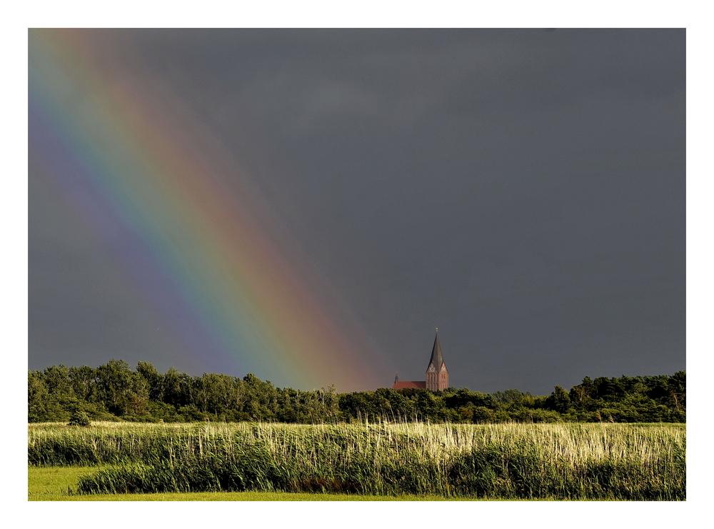 Voll der Regenbogen