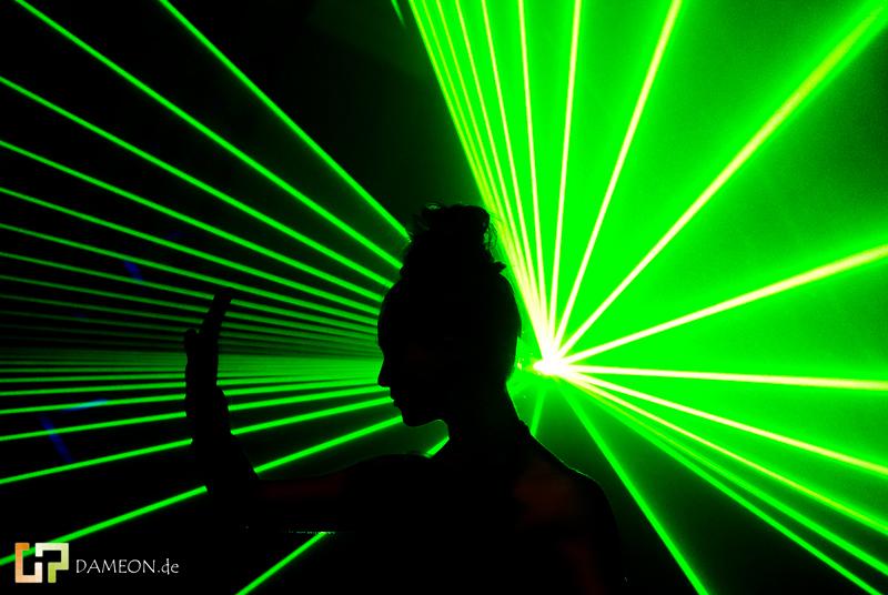 Voll Laser wie du abgehst....