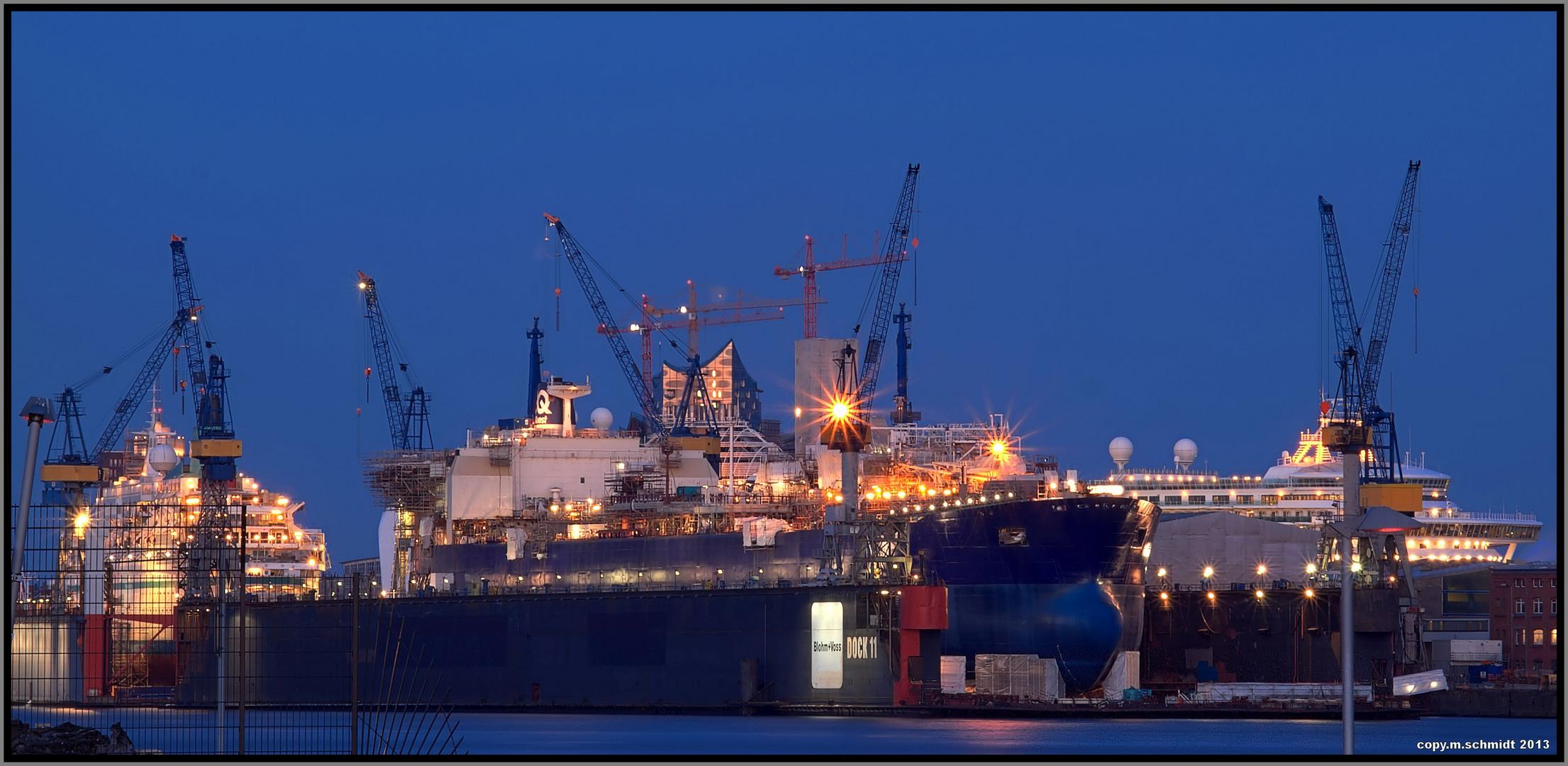 Volle Docks