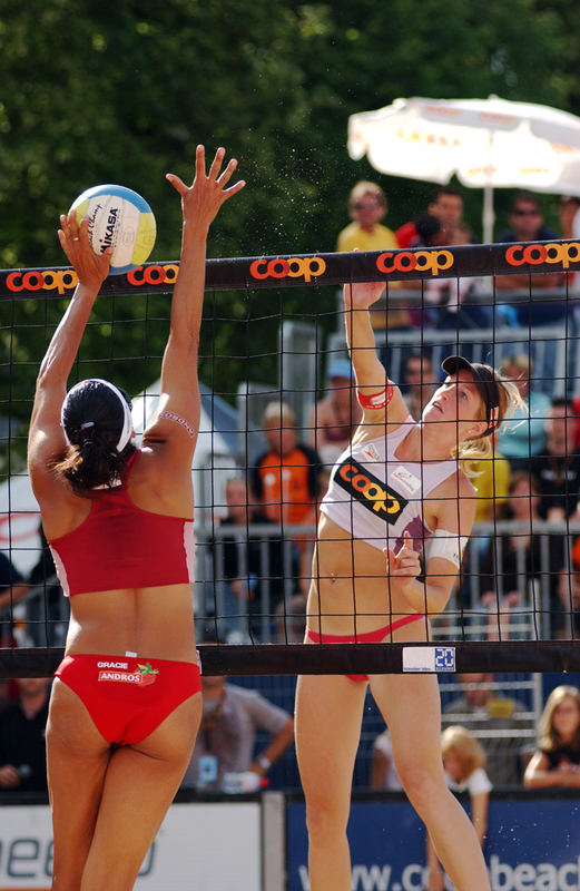 Volley-Duell Coop-Beachtour