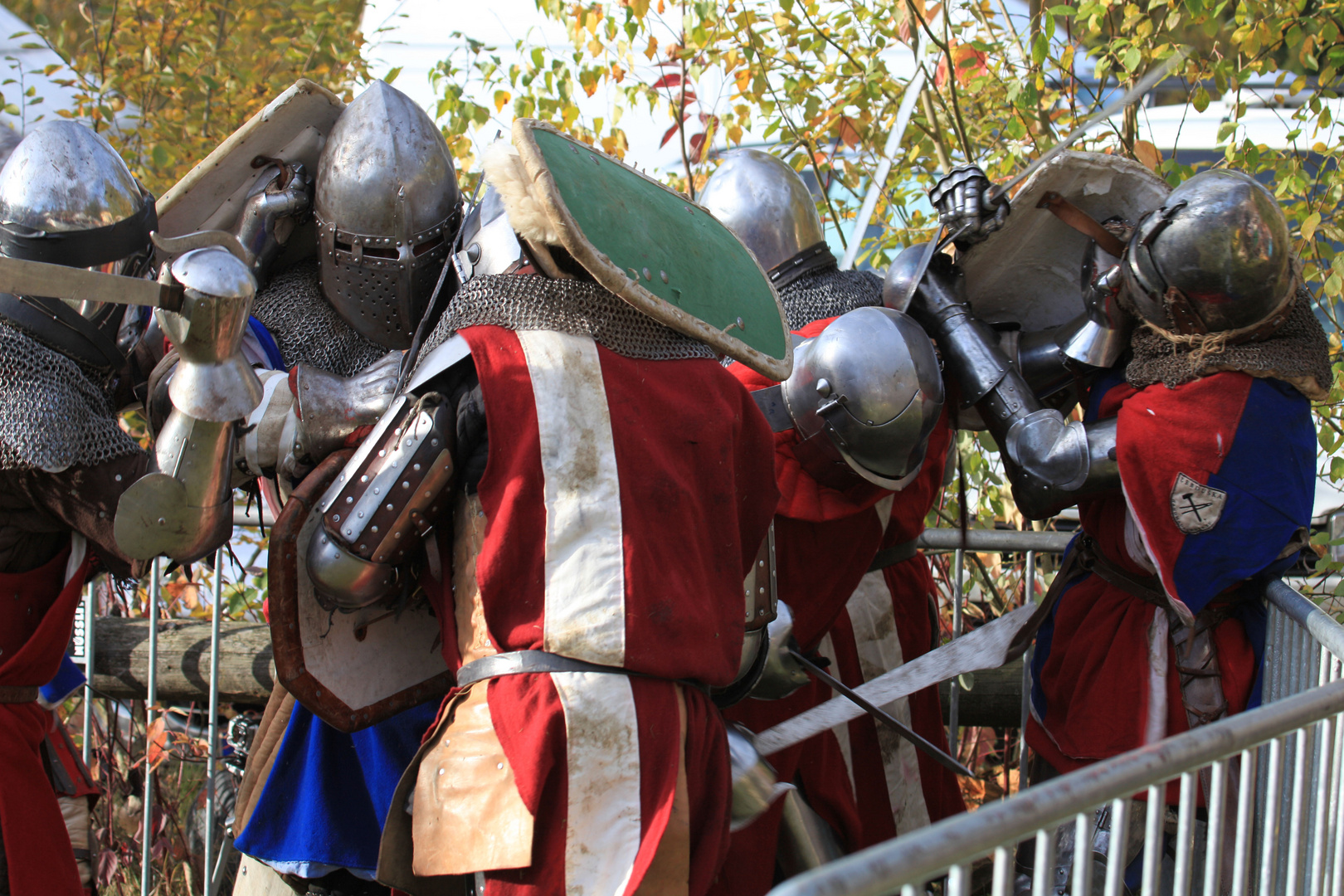 Vollkontaktkampf in historischer Rüstung3