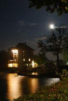Vollmond am Rheinfall