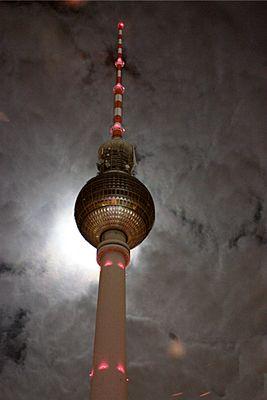Vollmond in Berlin