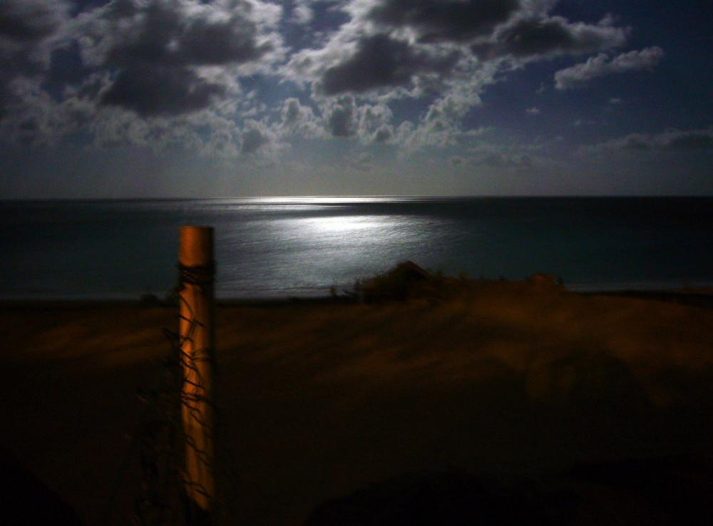 Vollmondnacht an der Playa Esquinzo