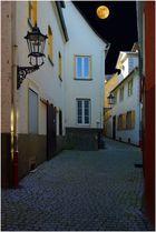 Vollmondnacht in Koblenz-Ehrenbreitstein