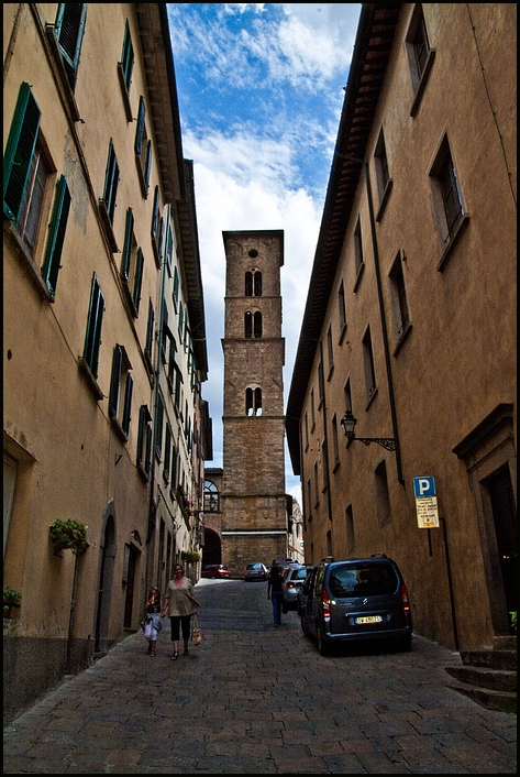 Volterra, Toskana.