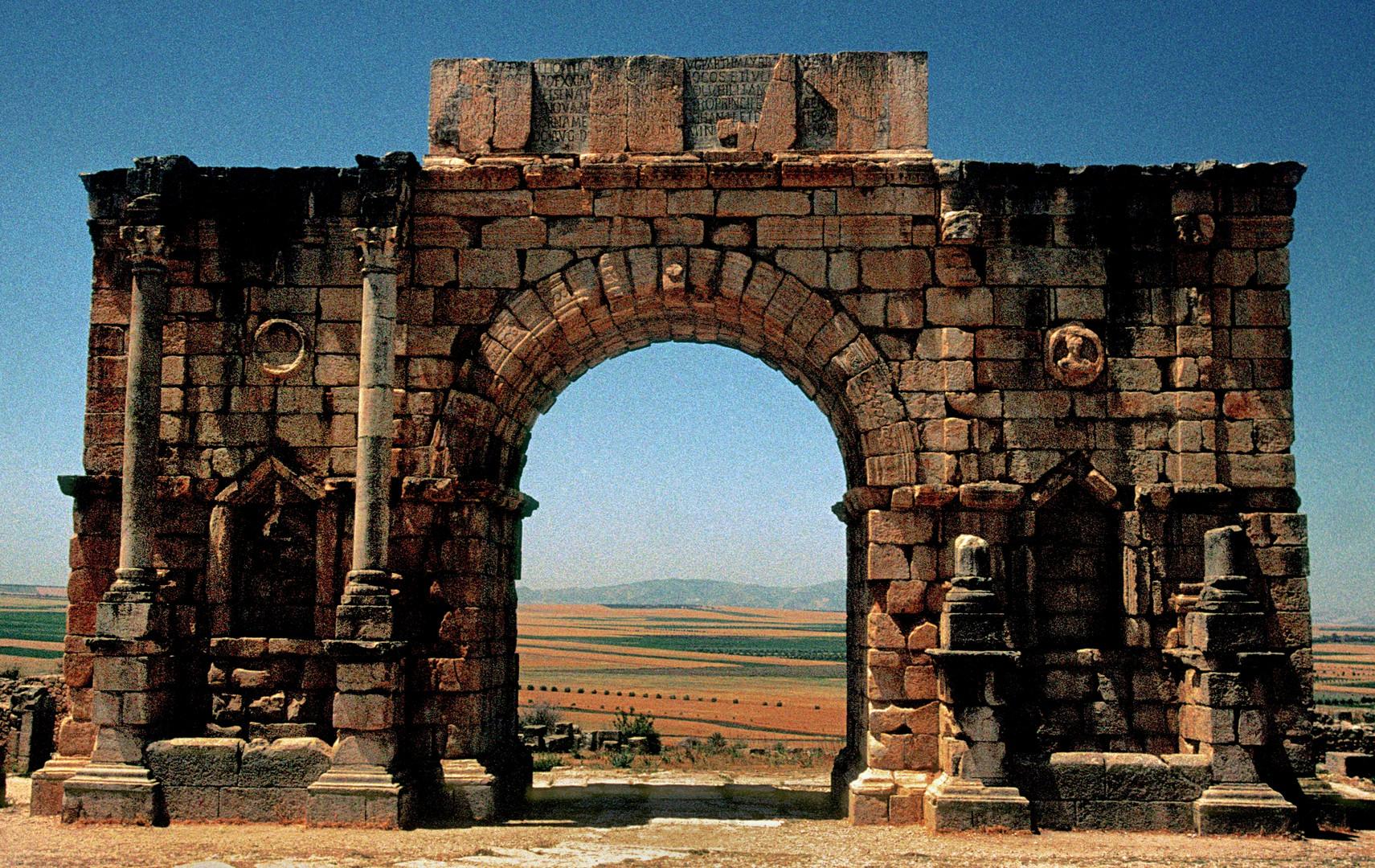 Volubilis römische Ausgrabungsstätte