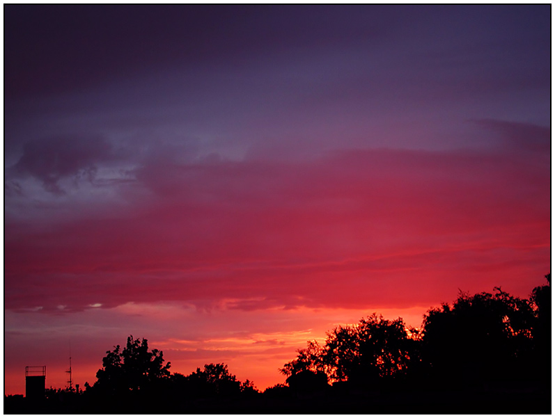 Vom Abend und vom Morgen (Bild zum Sonntag und zur kommenden Zeit)