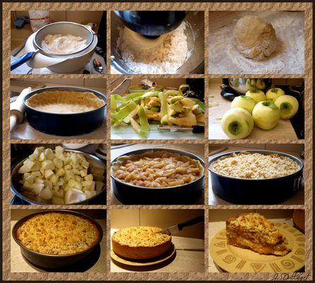 Vom Apfel,....zum Kuchen