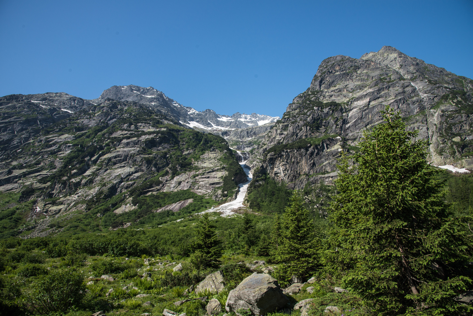 Vom Berner Oberland ins Engadin