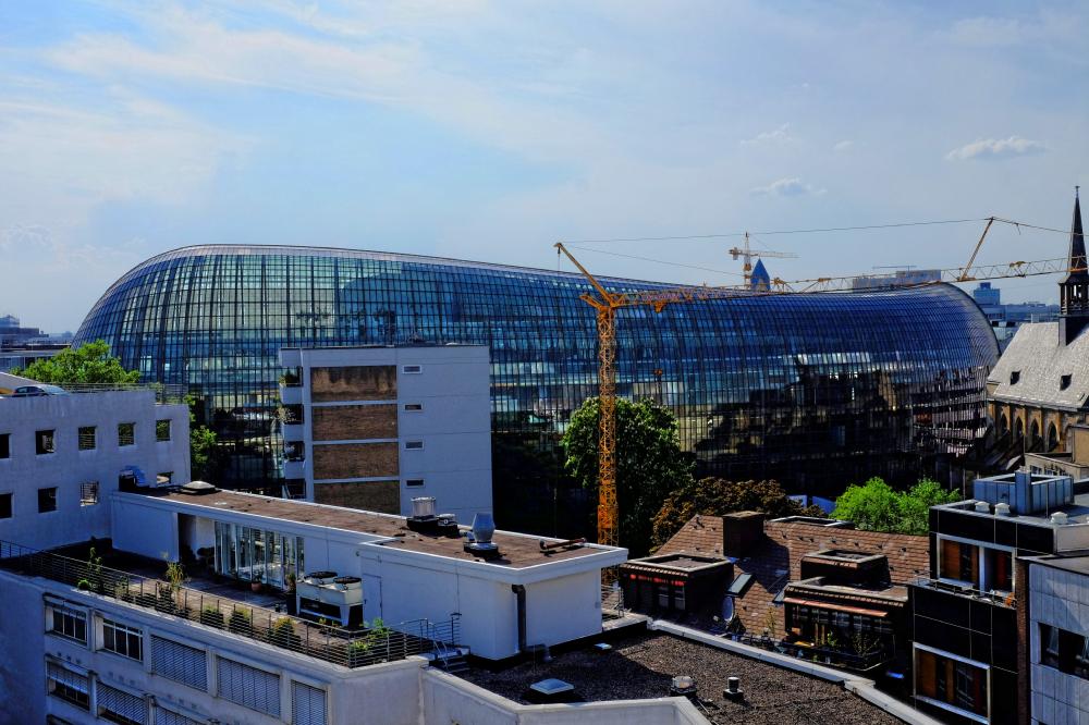 Vom Dach gesehen (1)