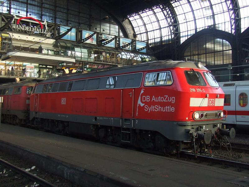 Vom DB Autozug Sylt