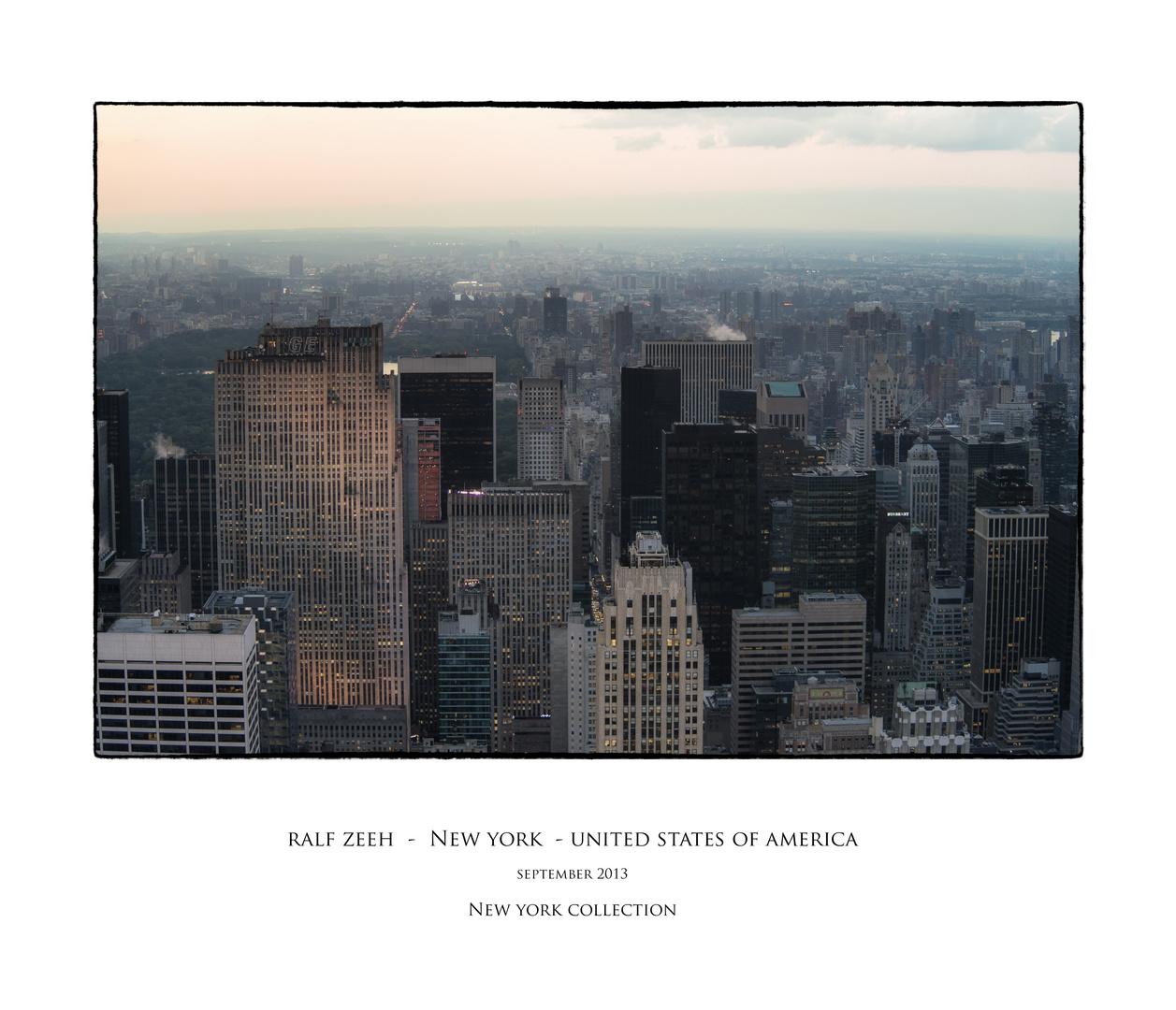 vom Empire State Building aus gemacht no.7
