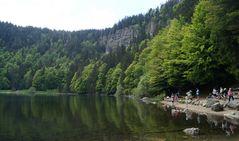 Vom Feldberg (1493 m) ..
